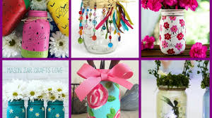 Decorating Ideas With Mason Jars Summer Mason Jar Crafts Summer Jar Decorating Ideas YouTube 13