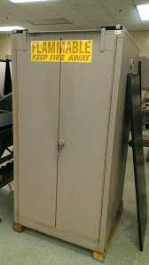 used liquid flammable fire safety cabinets