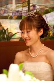 画像 先輩花嫁モデル事例ヘッドドレス別花嫁のヘアスタイル