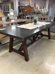 table metal top with wooden base sold ark vintage vintage metal table and chairs for