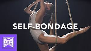Self bondage rope work