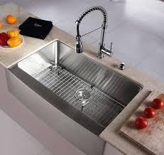 kraus khf200 33 farmhouse single bowl stainless steel sink