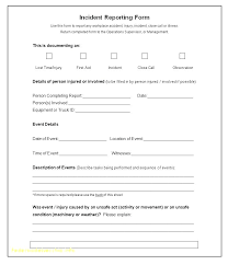 Fax Form Template Free Enchanting Company Vehicle Accident Report Form Template Elegant Incident Free