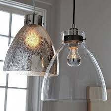 industrial glass pendant lights with minimalist design within light ideas 15