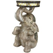 Rabbit Decorative Accessories Oriental Furniture 100 in Sitting Elephant Decorative StatueSTA 36