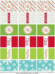 Mini Chocolate Candy Printable Magical Elf Christmas Party
