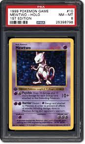 mewtwo the 1999 pokémon 1st edition