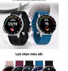 Đồng Hồ Thông Minh Uonevic H30 42mm Cảm Ứng Toàn Màn Hình Chống Nước IP68  Quay Số Mutil Nhắc Nhở Chu Kỳ Sinh Lý Cho Nam Nữ Hỗ Trợ IOS Android 390.200