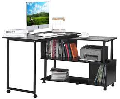 amazon home office furniture. Amazon Merax Rotatable Puter Desk Home Office Furniture L Scheme Of Best Shaped For O