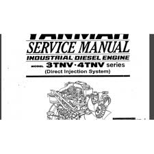 details about yanmar 3tnv 4tnv diesel engine manual industrial new details about yanmar 3tnv 4tnv diesel engine operation operators maintenance manual industrial