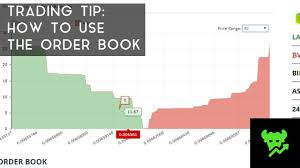 Depth Chart Btc Tip Watch The Order Book Cryptocurrency Facts