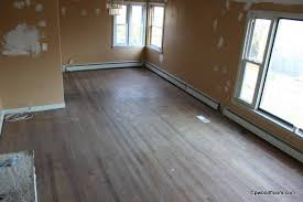 how dark can you stain red oak flooring