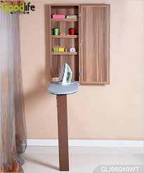 ironing board furniture. Home Ironing Center Furniture Wall Mounted Mirrored Board Cabinet  GLI08040 B