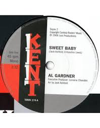 """Al Gardner / Jack Ashford – Sweet Baby / I'll Fly To Your Open Arms 7"""" -  Play De Record"""