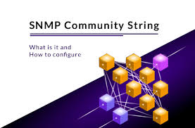 What Is Snmp Snmp Community String What Is It How To Configure It In