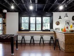 Basement Bar Ideas And Designs Pictures Options  Tips HGTV - Hgtv basement finished basement floor