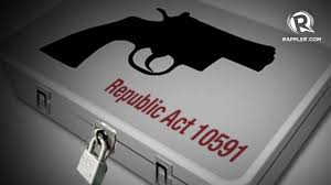 Image result for Violation of Ra 10591 (Comprehensive Firearms and Ammunition Regulation Act).
