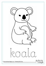 koala_word_tracing_460_0 koala printables on 2 week notice email template
