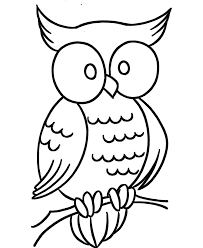 Owl Coloring Pages To Print Only Coloring Pages