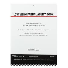 Low Vision Visual Acuity Book Acuity Charts Bernell