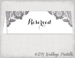 reserved sign templates free printable reserved table signs table tent reserved sign