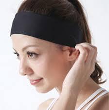 women lady sports yoga accessory dance biker beauty makeup headband elastic hair bands turban in hair