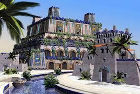 Второе чудо света Висячие сады Семирамиды в Вавилоне Путешествия  висячие сады Семирамиды