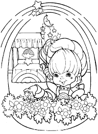 Small Picture Coloring page Rainbow Brite Coloringme