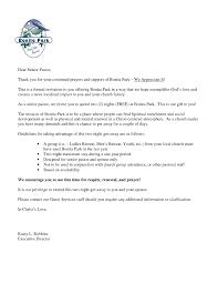 Celebration Letter Sample Invitation Letter Church Anniversary Celebration Archives 9