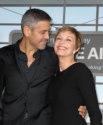 George Clooney and Nina Bruce Warren | What's Cuter Than Hot Guys With  Their Moms? | POPSUGAR Celebrity Photo 2