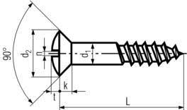Din Screws Dimensions Screws Specifications Weight Chart