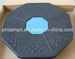 china eight square stability training wobble balance board china balance board wobble board
