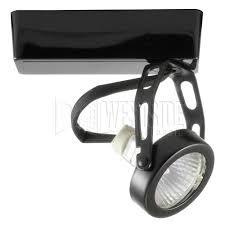 black track lighting. interesting black halo lzr401mb track lighting lazer low voltage mr16 gimbal ring  fixture  black on lighting o