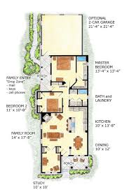 narrow house plans with front garage inspirational 23 best small house plans images on of