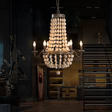 get ations kc american country living room lamps restaurant cafe clothing creative retro wood wrought iron candle chandelier
