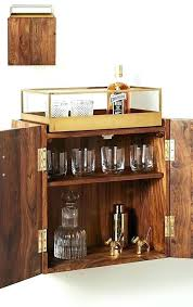 wall mounted bar cabinet pierre hanging india