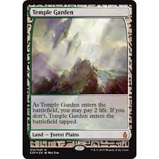 temple garden zendikar expeditions full art foil