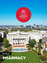College of Pharmacy Viewbook by Belmont University - issuu