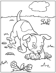 Printable Dogs Coloring Pages 46552