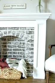 paint brick fireplace ideas painted image of brown pictures fireplaces photos white f