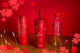 Welcome the 2021 lunar new year with godiva's assortment of gourmet candy wrapped in a traditional red and gold ribbon. Starbucks S Pore Releases Ox Themed Collection For Lunar New Year 2021 Singapore Foodie