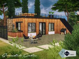 Sims House Design Modern Wooden Cabin Sims Houses Design Your Own Home Online Game