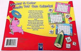 Crayola Art Framers Create Your Own Calendar W/ Stickers Fun Kids ...