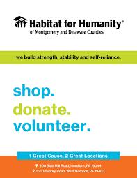 Individual Volunteering Opportunities Habitat Montdelco