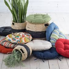diy simple round outdoor cushion bistrodre porch and landscape ideas regarding round outdoor chair cushions