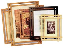build a mission style picture frame
