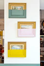 color dipped frames