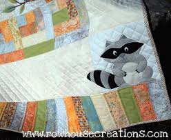 One Big Cabin | Raccoons, Babies and Patterns & Applique patterns Adamdwight.com