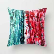 red and teal pillows. Beautiful Red Color Combo 2 Throw Pillow By ClaudiaMcBain Society6 Teal  For Red And Teal Pillows T