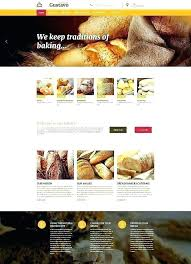 Cake Shop Website Template Bakery Free Cafe Templates